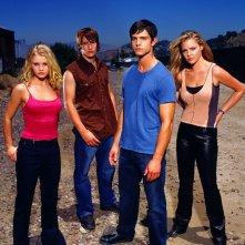 Tess, Michael, Max e Isabel per la 2 stagione di Roswell