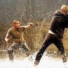 Una scena del film Fireball