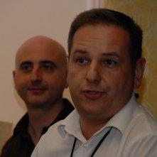 Davide Iannuzzi alla presentazione presentazione del corto Un collier per Angelica
