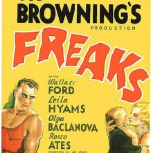 Locandina americana di Freaks