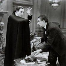 Bela Lugosi e Edward Van Sloan in Dracula
