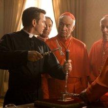 Ewan McGregor in una scena del film Angeli e Demoni