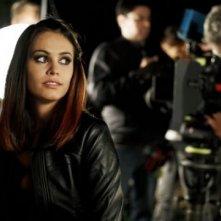 Francesca Petretto sul set del tv movie So che ritornerai