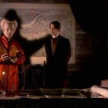 Oldman con Keanu Reeves in una scena di Dracula di Bram Stoker