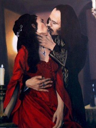 Gary Oldman e Winona Ryder in Dracula di Bram Stoker