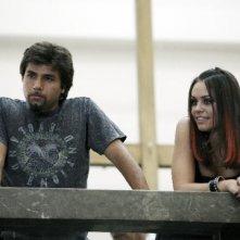 Il regista Eros Puglielli e Francesca Petretto sul set del tv movie So che ritornerai