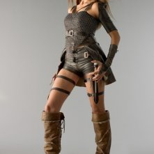 India de Beaufort in una immagine promozionale della serie Kröd Mändoon and the Flaming Sword of Fire