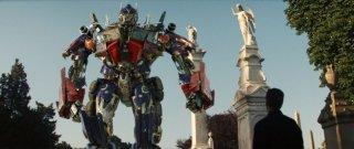 La prima immagine di di Optimus Prime nel film Transformers - La vendetta del caduto