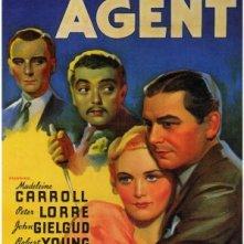 Locandina inglese de L'agente segreto