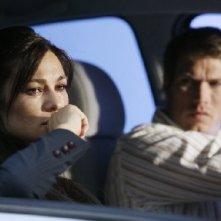 Manuela Arcuri e Jason Lewis in una scena del tv movie So che ritornerai