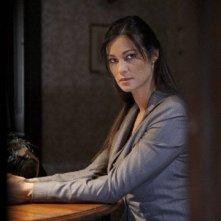 Manuela Arcuri sul set del tv movie So che ritornerai