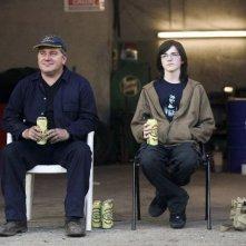 Pat Shortt e Conor Ryan in un'immagine del film Garage