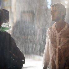 Raniero Monaco Di Lapio sul set del tv movie So che ritornerai