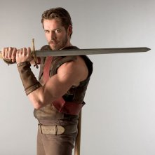 Sean Maguire in una foto promozionale della serie Kröd Mändoon and the Flaming Sword of Fire