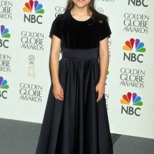 Una giovane Tina Majorino ai Golden Globe Awards