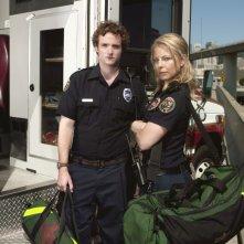 Billy Lush ed Anastasia Griffith in una foto promozionale della serie Trauma
