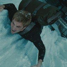 Chris Pine in un'immagine del film Star Trek