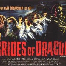 Lobbycard promozionale di Le spose di Dracula
