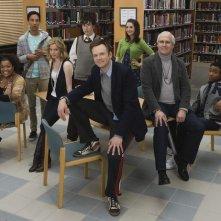 Una foto promozionale del cast di Community