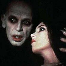 Klaus Kinski e Isabelle Adjani in una scena di Nosferatu, principe della notte