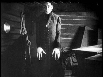 Max Schreck è Orlock in Nosferatu