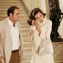 Giuseppe Sanfelice e Carol Alt in una scena della serie TV Piper