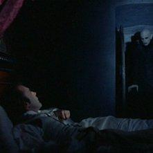 Klaus Kinski con Bruno Ganz in una scena di Nosferatu, principe della notte