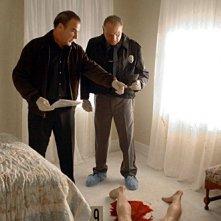 Mandy Patinkin e Bill Smitrovich in una scena dell'episodio 'Raphael - prima parte' della serie tv Criminal Minds