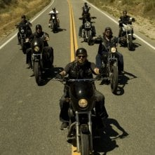Un momento del pilot di Sons of Anarchy