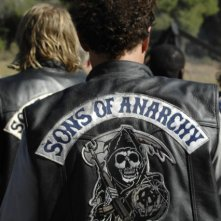 Una foto di scena del pilot di Sons of Anarchy