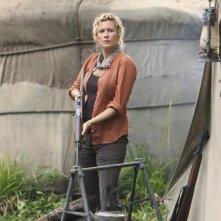 Alice Evans nell'episodio Follow the Leader di Lost
