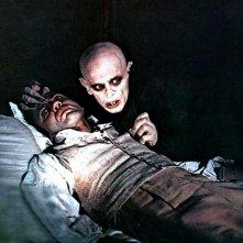 Bruno Ganz con Klaus Kinski in Nosferatu, principe della notte