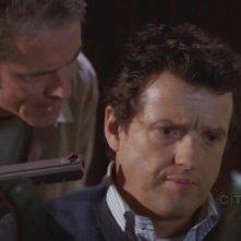 C. Thomas Howell insieme a Justin Louis in una scena dell'episodio 'Omnivore' della quarta stagione di Criminal Minds