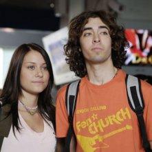 Due protagonisti della prima stagione de I Liceali (2008) in una scena della serie