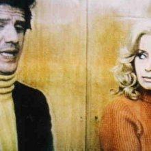 Evi Farinelli accanto a Franco Franchi in un film