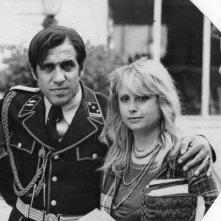 Evi Farinelli con Adriano Celentano