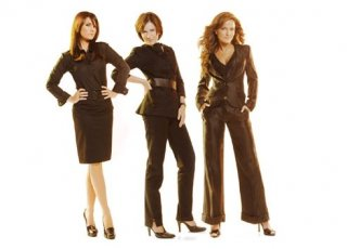 Il cast di Socie in una foto promozionale della serie
