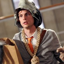 Matthew Gray Gubler in versione Halloween nell'episodio 'Mi hai visto?' della serie tv Criminal Minds