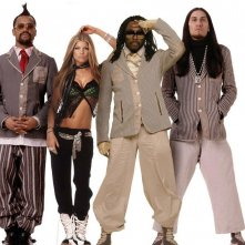 Wallpaper: The Black Eyed Peas su sfondo bianco