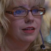 Un bel primo piano di Kirsten Vangsness in un momento dell'episodio 'House on fire' della serie tv Criminal Minds