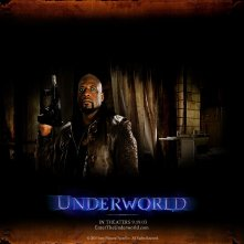 Un wallpaper di Kevin Grevioux nella parte di Raze nel film 'Underworld'