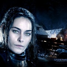 Un wallpaper di Zita Gorog che interpreta Amelia in 'Underworld: Evolution'