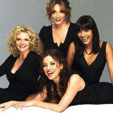 Una foto promozionale del cast di Amanti