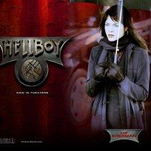 Wallpaper di Selma Blair che interpreta Liz Sherman nel film 'Hellboy'