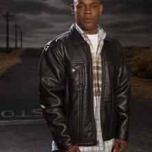 Bokeem Woodbine in una foto promozionale della seconda stagione di Saving Grace