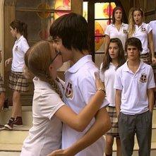 Laura Esquivel e Luciano Ruíz in una scena della serie Il mondo di Patty