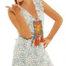 Laura Esquivel in una foto promozionale della serie Il mondo di Patty
