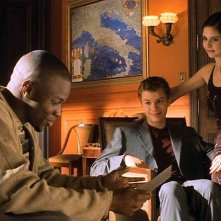 Sean Patrick Thomas, Ryan Phillippe e Sarah M. Gellar in una scena del film 'Cruel Intentions'
