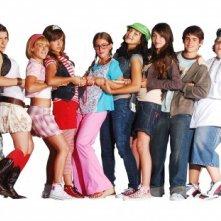 Una foto promozionale del cast de Il mondo di Patty