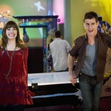 Demi Lovato e Kelly Blatz in un momento dell'episodio Sonny With a Chance of Dating di Sonny tra le stelle